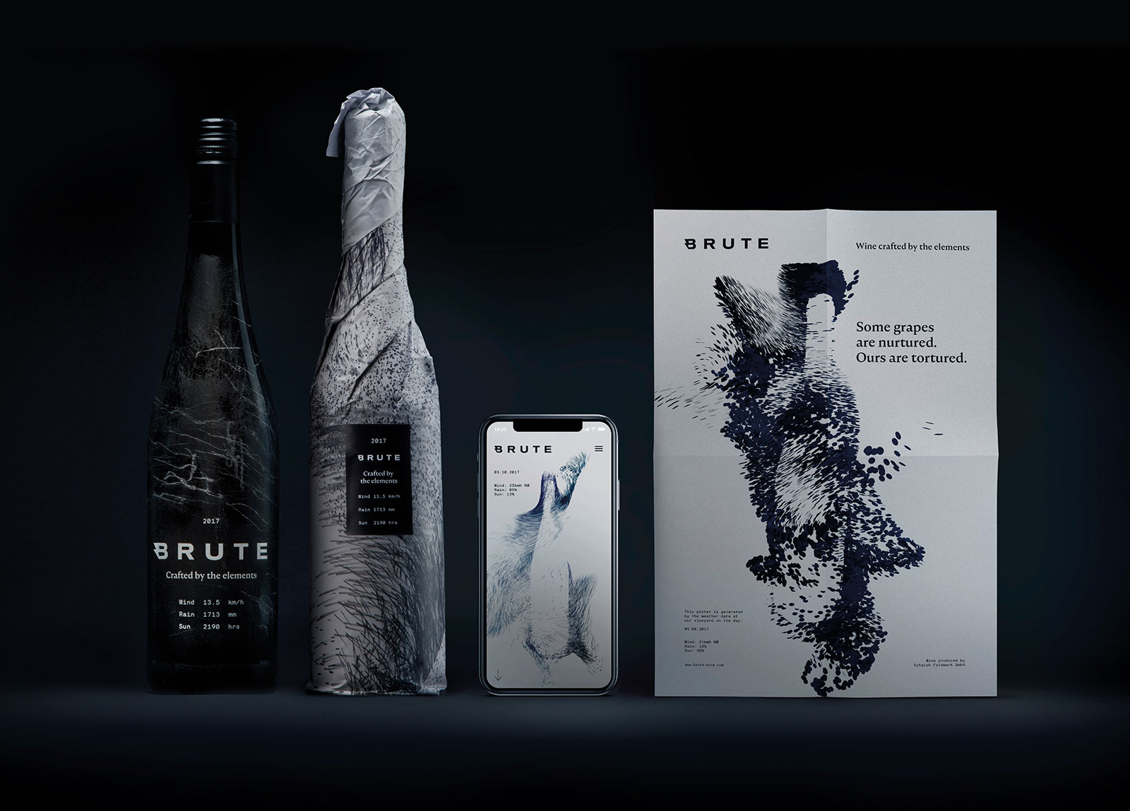 A brand crafted by the elements